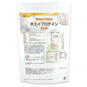 ニチガ ホエイプロテインW80  プレーン味 1kg